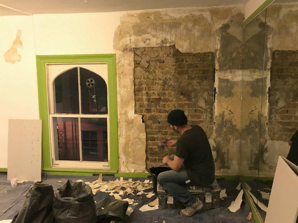 Wall Repair & Plastering