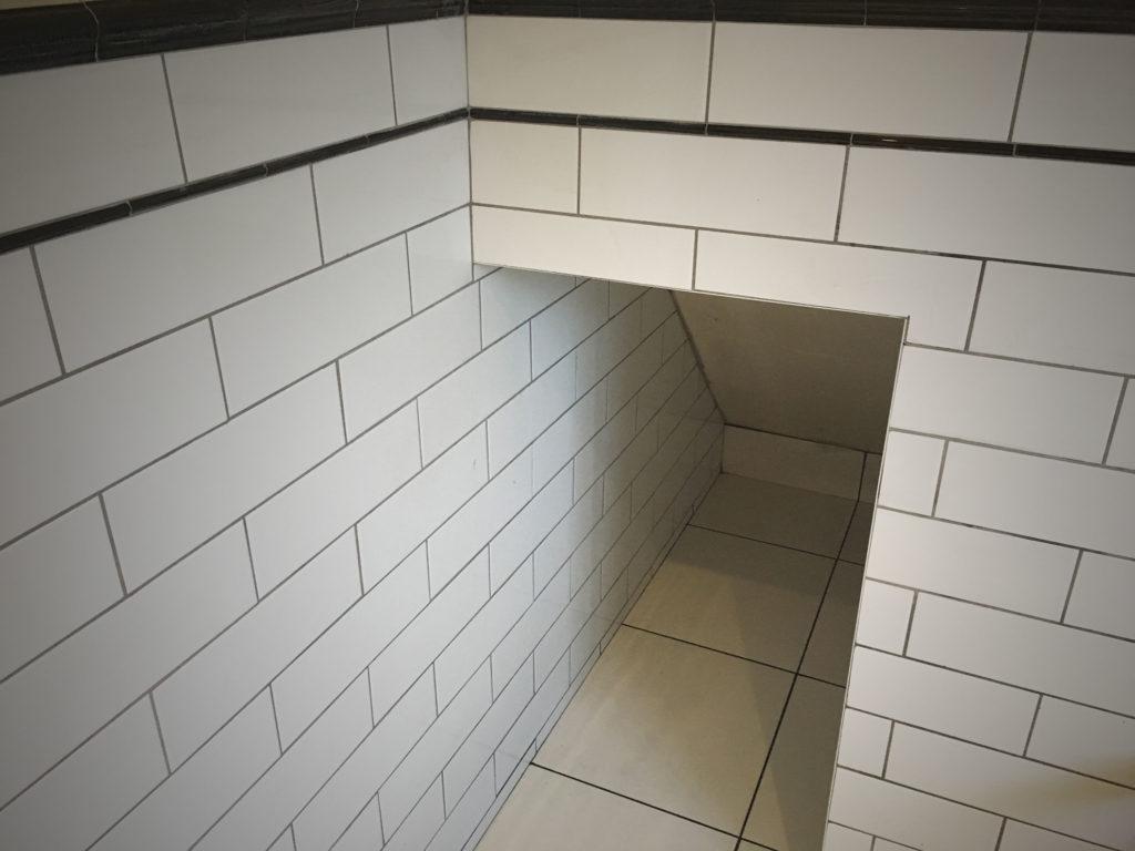 Alcove, Edge & Corner Tiling | Matts Tiling & Plastering